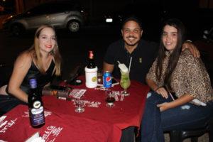 Andréia Bueno, Eduardo Brandão e a namorada Gabriele Bueno