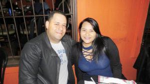 Luciano Escorsato e Franciele Souza<br>