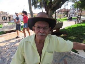 """""""O Estatuto do idoso é uma ferramenta importante na defesa dos direitos dos idosos, até mesmo porque nós precisamos de auxilio para que possamos ter uma vida digna e respeitosa. Saber que existem leis de proteção em prol do nosso bem-estar é de grande importância"""".César Campos  da Silva, 74 anos, aposentado"""