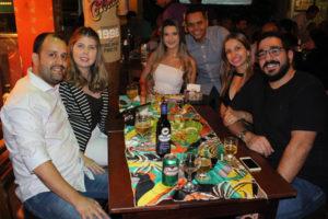 Ivan Garcia/Fernanda, Reginaldo Costa e a noiva Mirlla Alves, Márcio Moisés/Carla