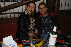 Diego Rabelo e a namorada Louane Sousa