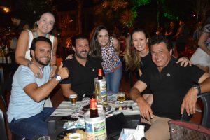 Flávio Macedo/Fabiana, Gustavo Orsatti/Paula, Gustavo Chavaglia/Larissa