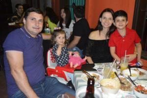 Marcelo Mauad/ Tatiane e os  filhos Isadora e Marcelo Mauad