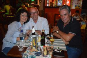 Renato Galdiano/Valdete, que comemoram 38 anos de casados, e Célio Ribeiro Queiroz