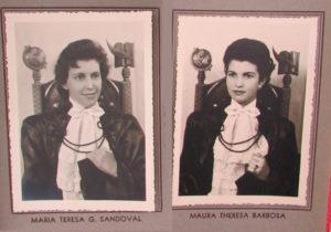 (3) Maria Teresa G. Sandoval e (4) Maura Theresa Barbosa