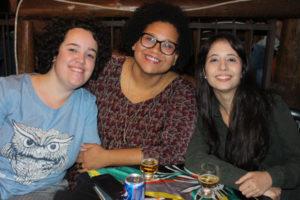 Aline Cristina, Kemily  Reche e Marina Moisés