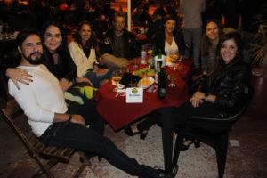 Marco Oliveira/Ana Sílvia, Fred Ferreiar/Flávia, Cecília Fonseca, Fabiana Bordon e Manuela Fonseca