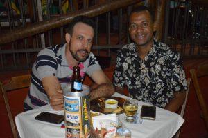 Jose Luís Costa e Robert Oridio