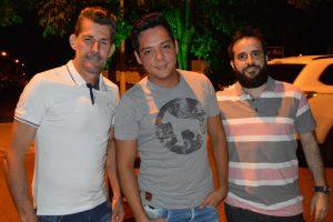 Wender Machado, Lucas Yamada Barreto e Eduardo Jorge