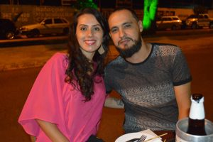 Rodrigo Dadalte e namorada Isadora Bueno
