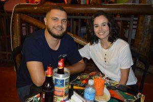 José Otávio Rocca e a namorada Camila Caliman