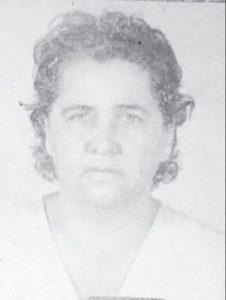 """Siva dos Santos Pugliani    Faleceu dia 8 de março, aos 88 anos, a aposentada Siva dos Santos Pugliani, viúva de João Pugliani (Pavão""""). São seus filhos Luiz Antônio (in memoriam) e Ana Cláudia, e netos Júlia (in memoriam), Manoel, Murilo e Ana Cristina. Ela é filha de Antônio dos Santos Cardia e Aggrippina de Paula Santos Cardia, e são seus irmãos Maria do Carmo, e os já falecidos Luzia e Antônio."""