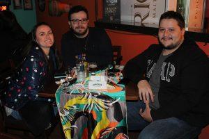 Carolina Sanches, Matheus Wehbe e Paulo César Carreira