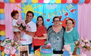 Ézia de Paula Galdiano  Comemora 92 anos, dia 25 de junho, Ézia de Paula Galdiano, que é matriarca de cinco  gerações: a filha Maria Aparecida Galdeano Coelho - 73 anos, a neta Renata Galdeano  Coelho Fidelis, que nasceu em  29 agosto 1969, 49 anos,  o bisneto Evandro Coelho Fidelis, que nasceu em 21 janeiro 1989 - 30 anos, e a trineta Cecília de Sousa Fidelis, que nasceu em 16 de maio de 2017