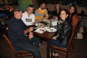 Luciano Guedes/Lara Tassaara, Guilherme Salgado/Fabiana, Mário Yoshida/Karina