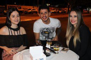Amanda Lopes, Erlon Oliveira e Alana Lopes