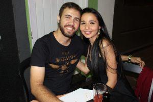 Luiz Fernando Lemes da Silva e a namorada Thamyris Cristina Dias Delefrate