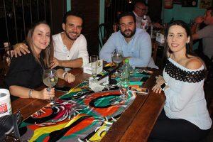 Flávio Macedo/Fabiana,  Luiz de Branco Neto/Roberta