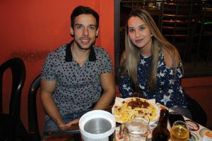 Gabriel Colmanetti e Tatiely Santos
