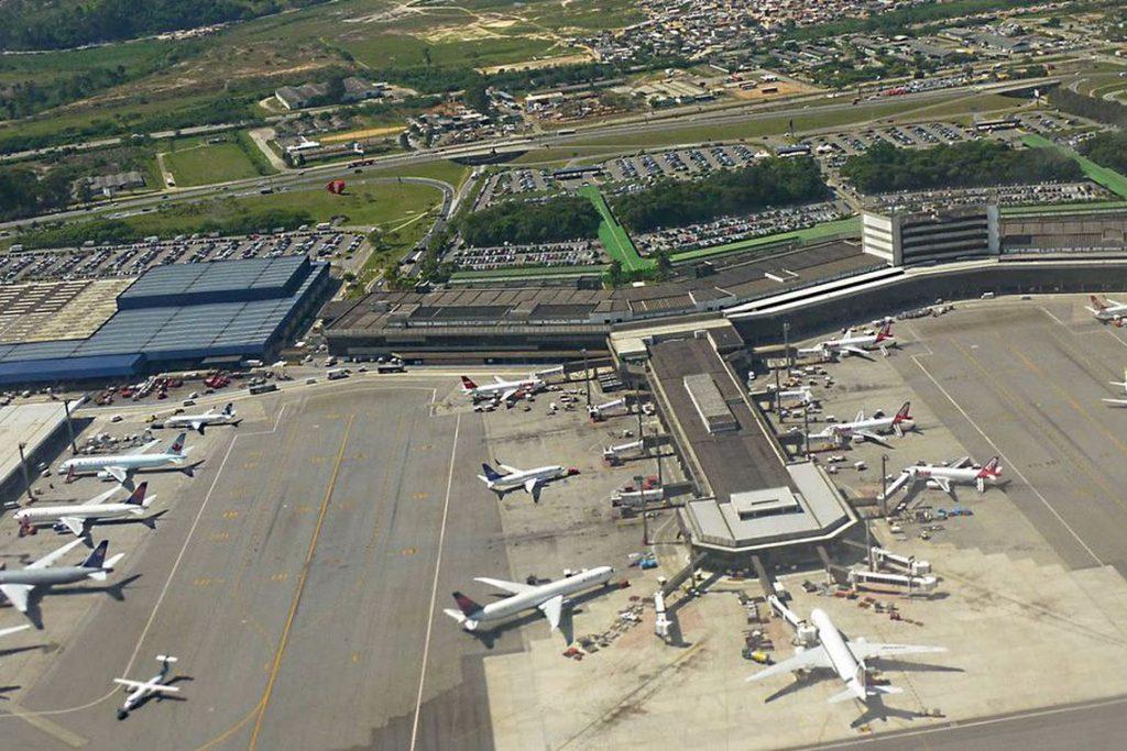 Resultado de imagem para aeroporto de guarulhos