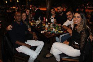 Paulo Ricardo Ferreira e a namorada Camila Leite, Andresa Ramos, Alex Silva Santos/Priscila Jacob, Fransérgio Natali/Lauana Natali