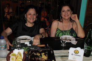 As irmãs Sandra Moysés e Silvana Moysés