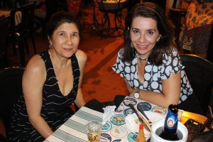 Célia Delefrate e  Emília Vasconcellos