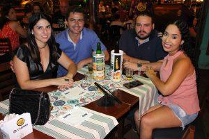 Rodrigo Alves/ Ana Paula Stamillo, João Marcelo Gumiero e a namorada Gisele Lopes
