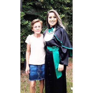 """Mãe: Enedina dos Santos Filha: Hellen Cristina dos Santos Menino  """"Tudo que sou e conquistei devo a você. Sempre vou amá-la. Foi Deus que escolheu tão bem você para mim. Agradeço a Ele pela sua vida. Feliz Dia Das Mães. Amo você""""."""