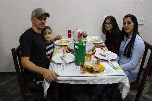 Eliézer Souza/Carmen Lúcia Rocha Monteiro e os filhos Eliézer Monteiro Souza e Eduarda de Sá Souza