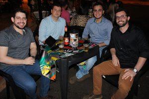 Guilherme Cazaroti, Níkolas Fernandes, Diego Silva e Kaique Lamoglia