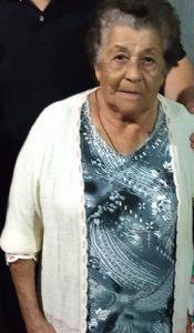 Terezinha Comemora aniversário dia 25 de dezembro, Terezinha Margarida Pinto Martins, viúva de Wilis Martins. Dona Trezinha recebe os parabéns dos filhos, netos, bisnetos, familiares e amigos
