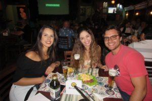 Renata Chaibub, Rodrigo Chaibub e a namorada  Yasmin Magalhaes