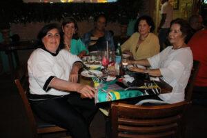 Kátia Flores, Irani da Silva, Sônia Santos, Antonieta Ribeiro e Cidinha Salgado