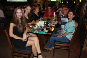 Maria Clara Reche, Maria Vitória Pereira, Vânia Pereira Hillates, Donizeti Aparecido, Renato Galdiano/Valdete