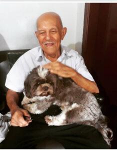 José Pereira  Completa 98 anos, dia 17 de agosto, José Pereira de Souza.  Ele recebe os parabéns dos filhos, netos, bisnetos, sobrinhos e amigos
