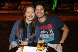 Camila Nogueira e  Gabriel Lamparelli