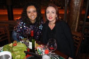 Priscila Leite e Giovana Garnica