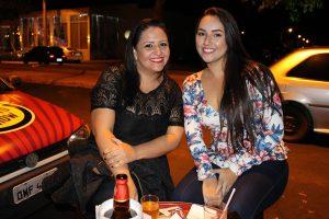 Joyce Leite e Amanda Gomes