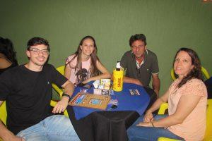 Hernane/Renata Honório e os filhos Mateus e Marília