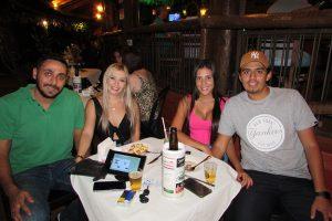 Diogo Tannous  e a namorada Natália Soares, Gabriel Xavier e a namorada Larissa Duque