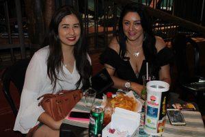 Isabele Roca e Fabiana Silva