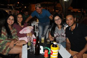 Regina Silva, Gabriela Silva Oliveira, Diego Henrique Dias, Ana Carolina Leite e Nilvo Henrique