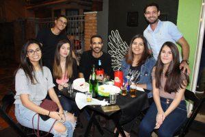 Gabriel Prata, Felipe Zanin, Laura Bárbara, Mariana Santos, Lucas Pimenta, Isabela Medeiros e Vanessa de Souza