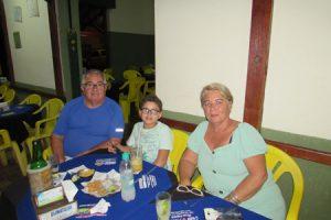 Valdir Valera/Marilene e o neto Gustavo