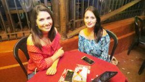 Simone  Franco  e Jéssica Cristina Teixeira