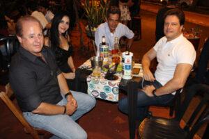 Guilherme Rocha Ribeiro Chavaglia, Anne Almeida, Marcelo da Silva  e Gustavo Adolfo Ribeiro dos Santos