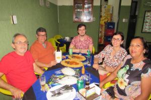 Eder Jorge Abdala Hanna/Cristiane Bueno Costa Hanna, Guilherme Mazetti/Renata Mazetti e o filho Alceu Mazetti