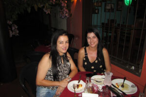 Eliane Araújo e Denise Barroso