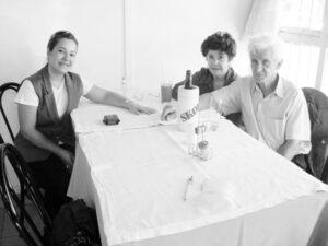 Acontece da Tribuna de Ituverava, edição 2786, de 19 de julho de 2008, no Restaurante Távola. Nelson Santos Brunheroti/Eunice e a filha Ana Cláudia Brunheroti